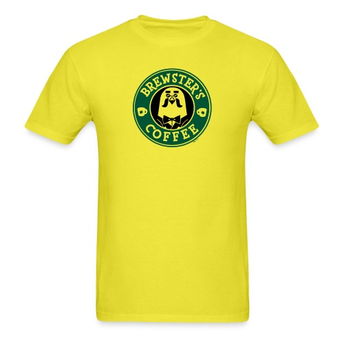 Brewster's Coffee - Men's T-Shirt