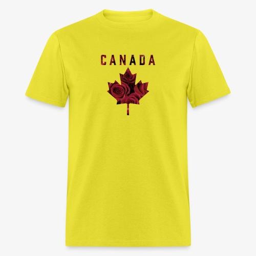 Canada Maple Roses - Men's T-Shirt