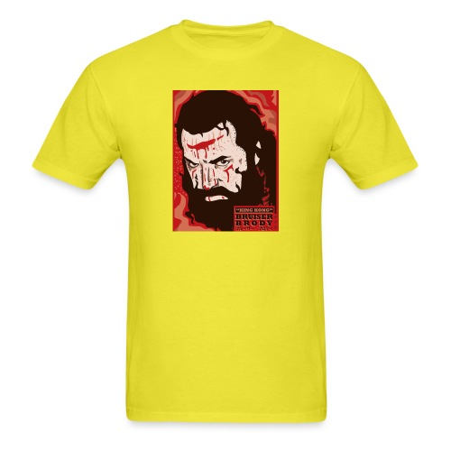 BRUISER BRODY Wrestling legend art print - Men's T-Shirt