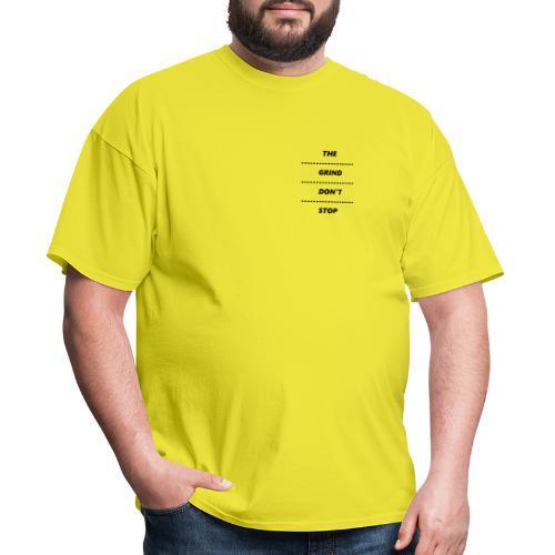THE GRIND DONT STOP | DOT PRINT - Men's T-Shirt