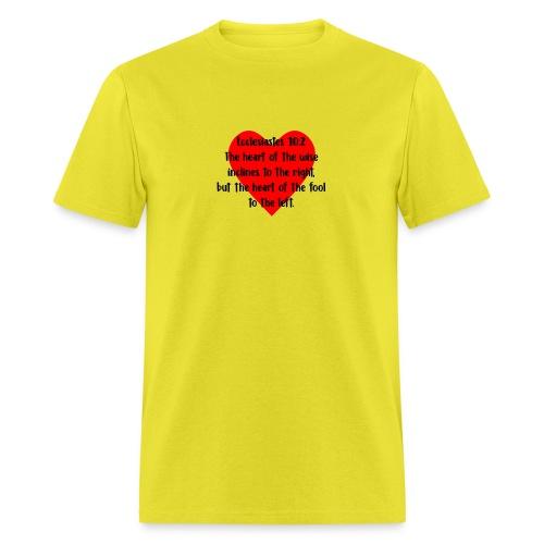 Ecclesiasties 10:2 - Men's T-Shirt