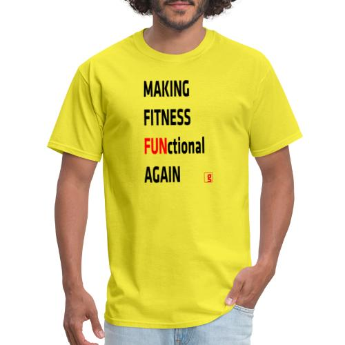 goality MFF tshirt black red - Men's T-Shirt