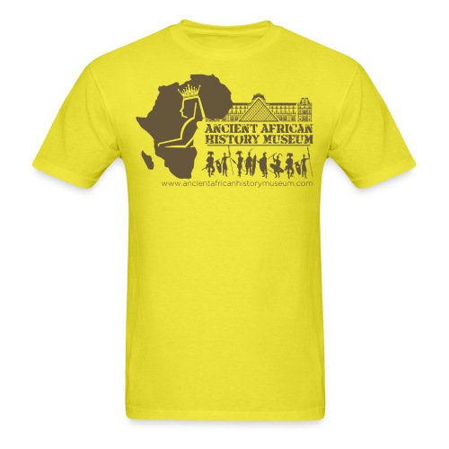 Ancient African History Museum Atlanta, Georgia - Men's T-Shirt