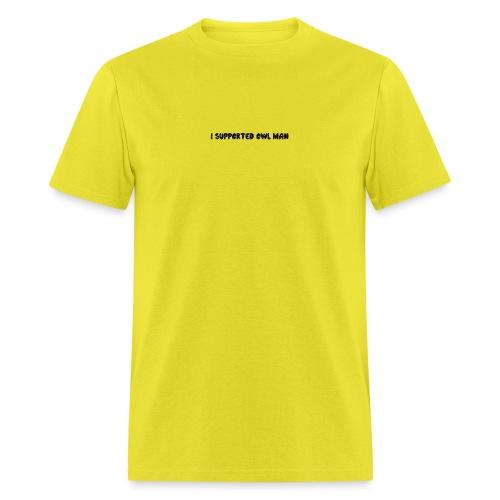 Official Owl-Man Supporter Shirt - Men's T-Shirt