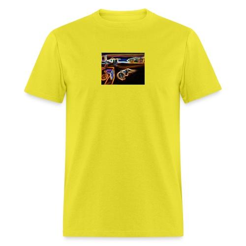 Melted Neon Dali - Men's T-Shirt