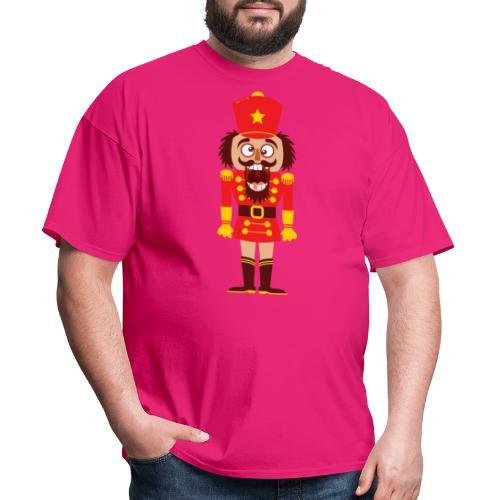 A Christmas nutcracker is a tooth cracker - Men's T-Shirt