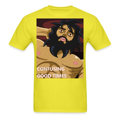 confusing good times - Men's T-Shirt
