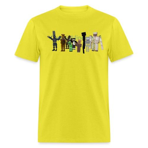 CaptainMinecraft - Men's T-Shirt