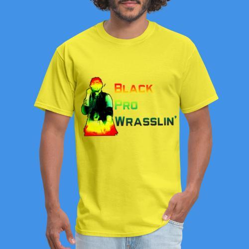 Black Pro Wrasslin - Men's T-Shirt