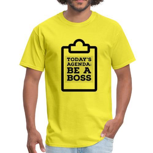 Agenda: Boss - Men's T-Shirt
