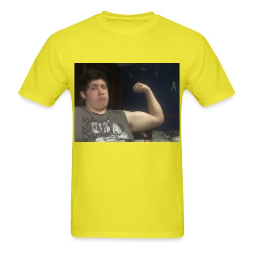 Catch the dub with the muscles - Men's T-Shirt