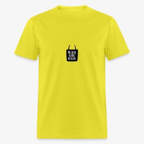 tote18in whi z1 t black girl magic - Men's T-Shirt
