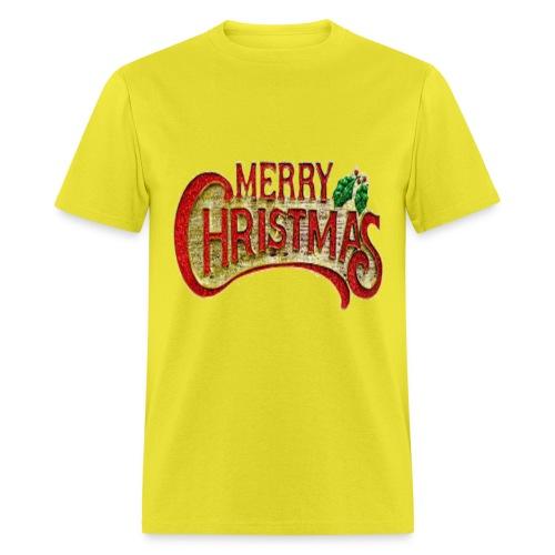 merrychristmas tshirts - Men's T-Shirt