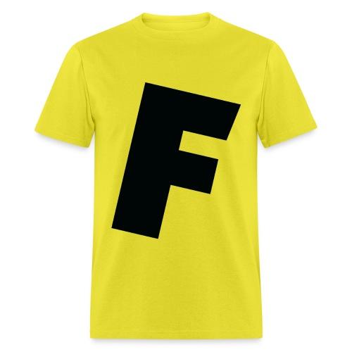 F slanted - Men's T-Shirt