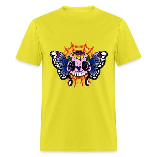 skull butterfly - Men's T-Shirt