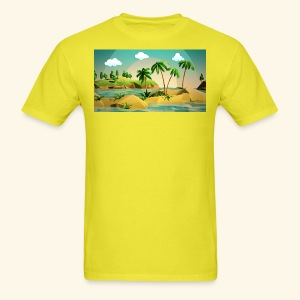3d nature t-shirt - Men's T-Shirt