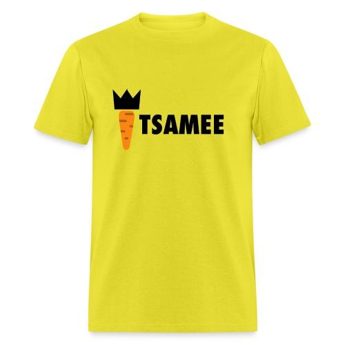 ITSAMEE LOGO BLACK - Men's T-Shirt