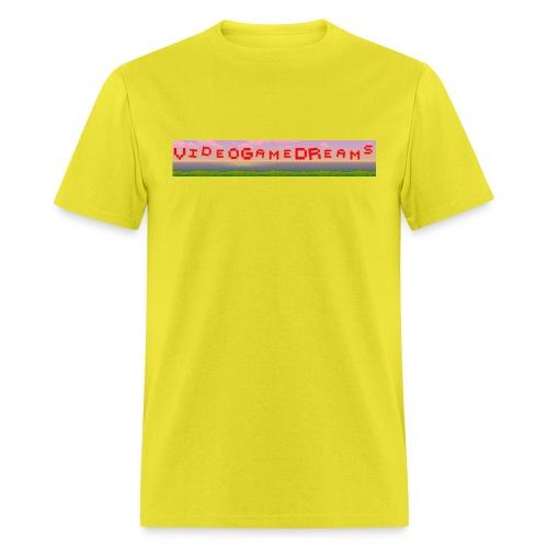 videogamedreams Logo - Men's T-Shirt