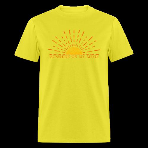 Sunshine On My Mind - Men's T-Shirt