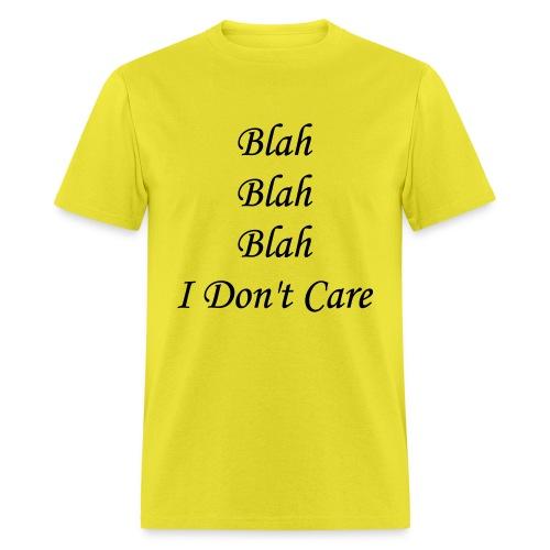 blah blah blah - Men's T-Shirt