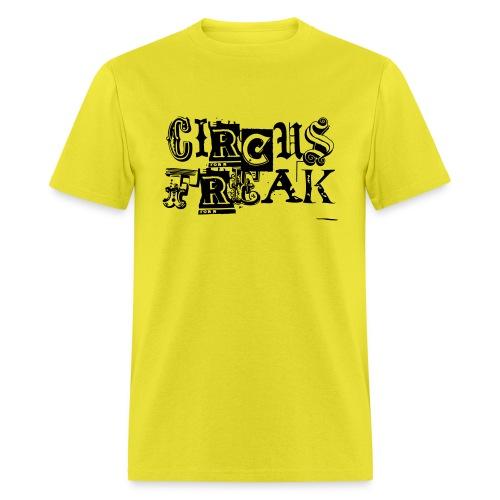 Circus Freak Outlines - Men's T-Shirt