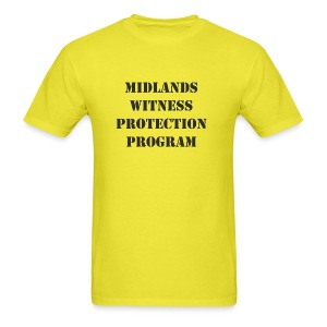 Midlands Witness Protection Program - Men's T-Shirt