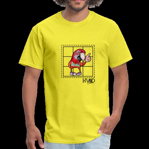 Bird Colour Graffiti - Men's T-Shirt
