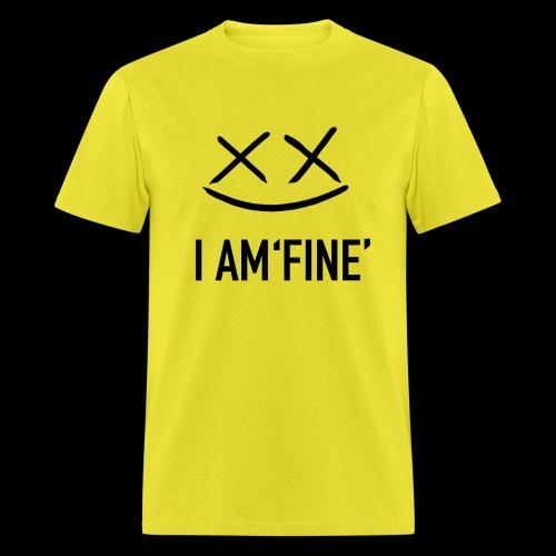 I AM FINE XvX - Men's T-Shirt