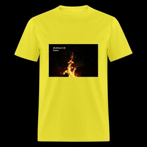 the flames - Men's T-Shirt