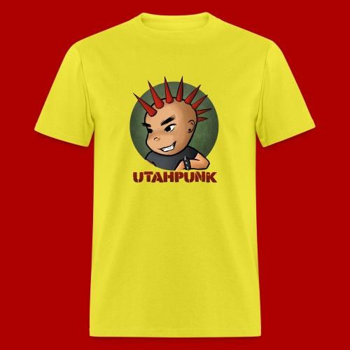 Utahpunk Logo - Men's T-Shirt