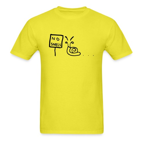 No Snels Original - Men's T-Shirt