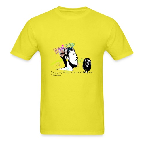 Homage: Billie Holiday - Men's T-Shirt