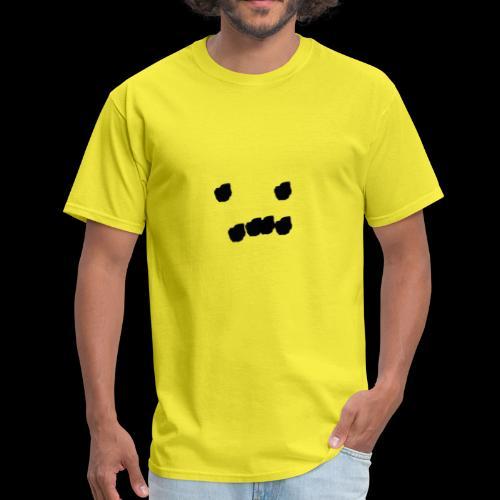 sad dot face - Men's T-Shirt