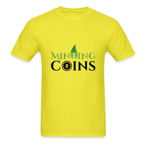 Minting Coins - Men's T-Shirt