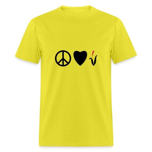 Peace Love Cornfields - Men's T-Shirt