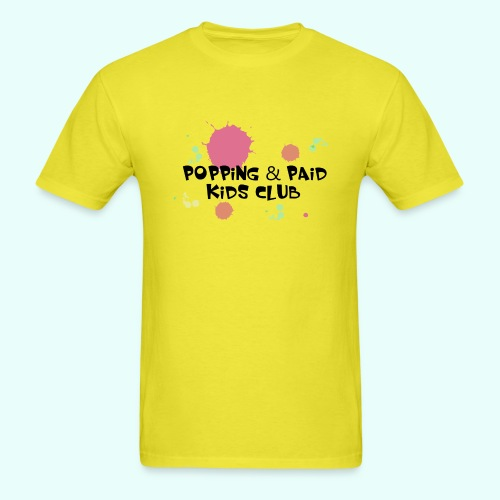 Popping & Paid Kids Club - Men's T-Shirt