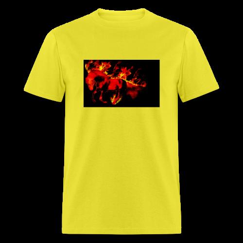 flaming horse - Men's T-Shirt