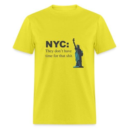 nyc!!! - Men's T-Shirt