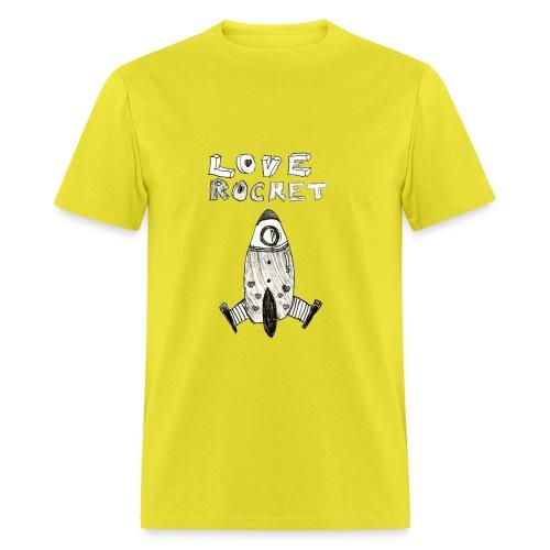 Love Rocket - Men's T-Shirt
