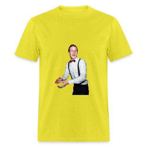 Matt Orange shirt. Christmas presant. - Men's T-Shirt