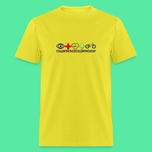 I love bikes - Men's T-Shirt