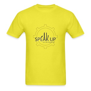 speak up logo 1 - Men's T-Shirt