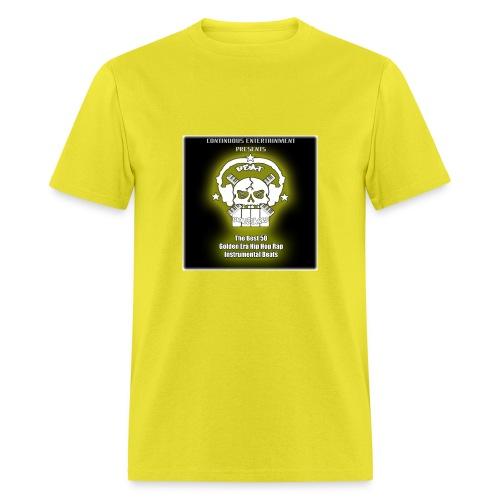 50 Golden Era Beats BeatMonstarrs - Men's T-Shirt