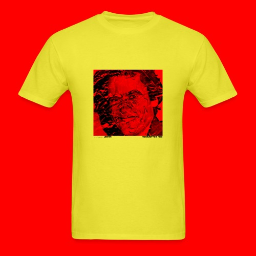 Ted Bundy, portrait of a legend. - Men's T-Shirt