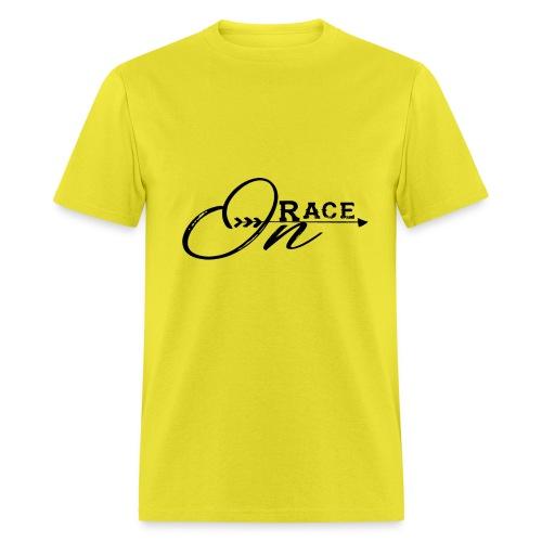 Race On BLACK - Men's T-Shirt