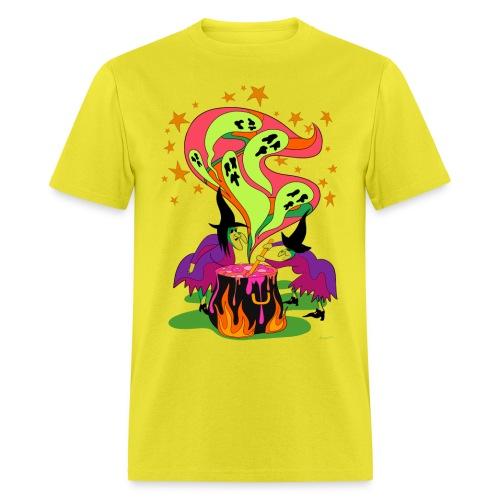 Halloween is Brewing - Men's T-Shirt