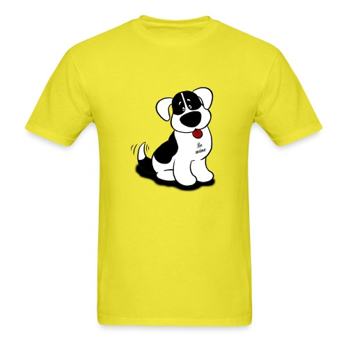 Be Mine Dog - Men's T-Shirt