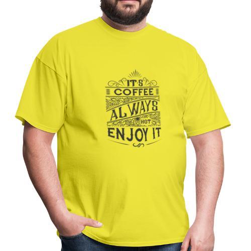 Motivation t-shirt with quote - Men's T-Shirt
