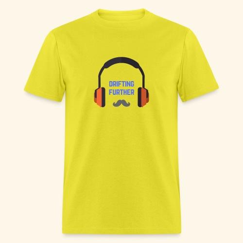 Headphones Mustache - Men's T-Shirt