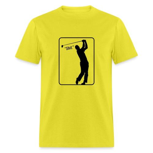 Golf Shot Shit. - Men's T-Shirt